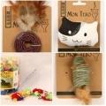 909 Mon Tero EcoToys для кошек